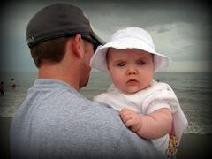 She loved the beach