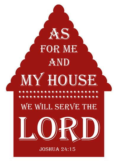 House {maroon} 8x10