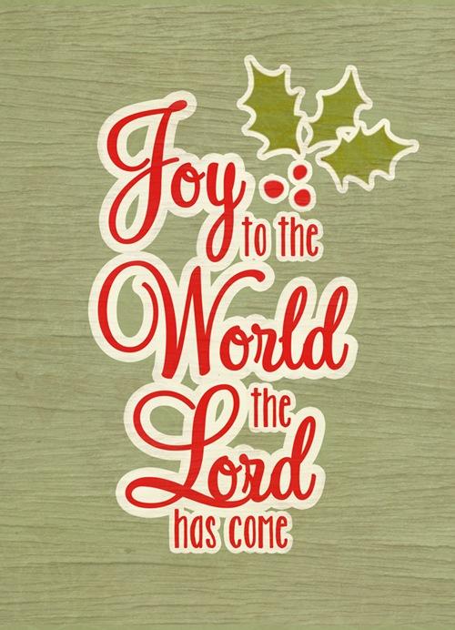 joy to the world web